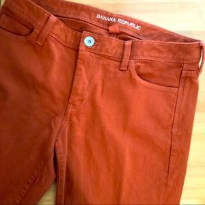 Banana Republic Rust Ankle Jeans